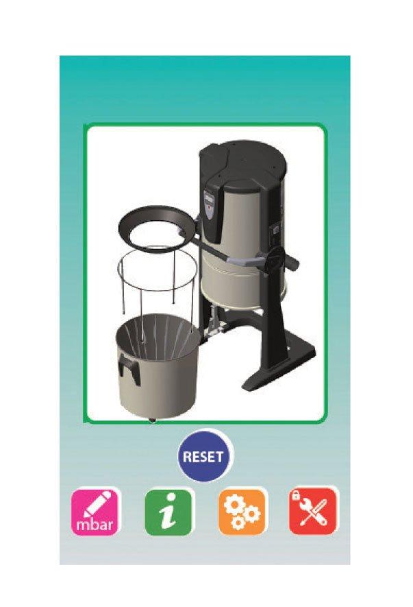 REVO BLOCK PROFESSIONAL, aspirazione Pro • Sistem Air