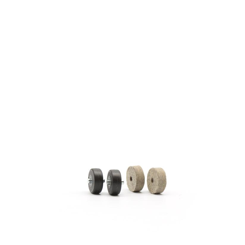 kit di 4 rotelle per spazzole Sistem Air
