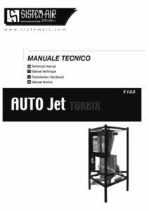 foto copertina manuale tecnico Auto Jet Turbix