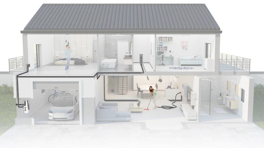 render casa Sistem Air