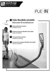 manuale tubo flessibile retrattile Flex in