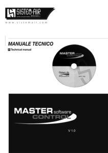 copertina manuale tecnicno Master Control Sistem Air