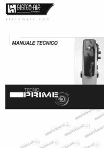 foto copertina manuale tecnico Tecno Prime Sistem Air