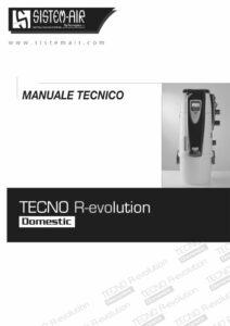 copertina manuale tecnico Revolution