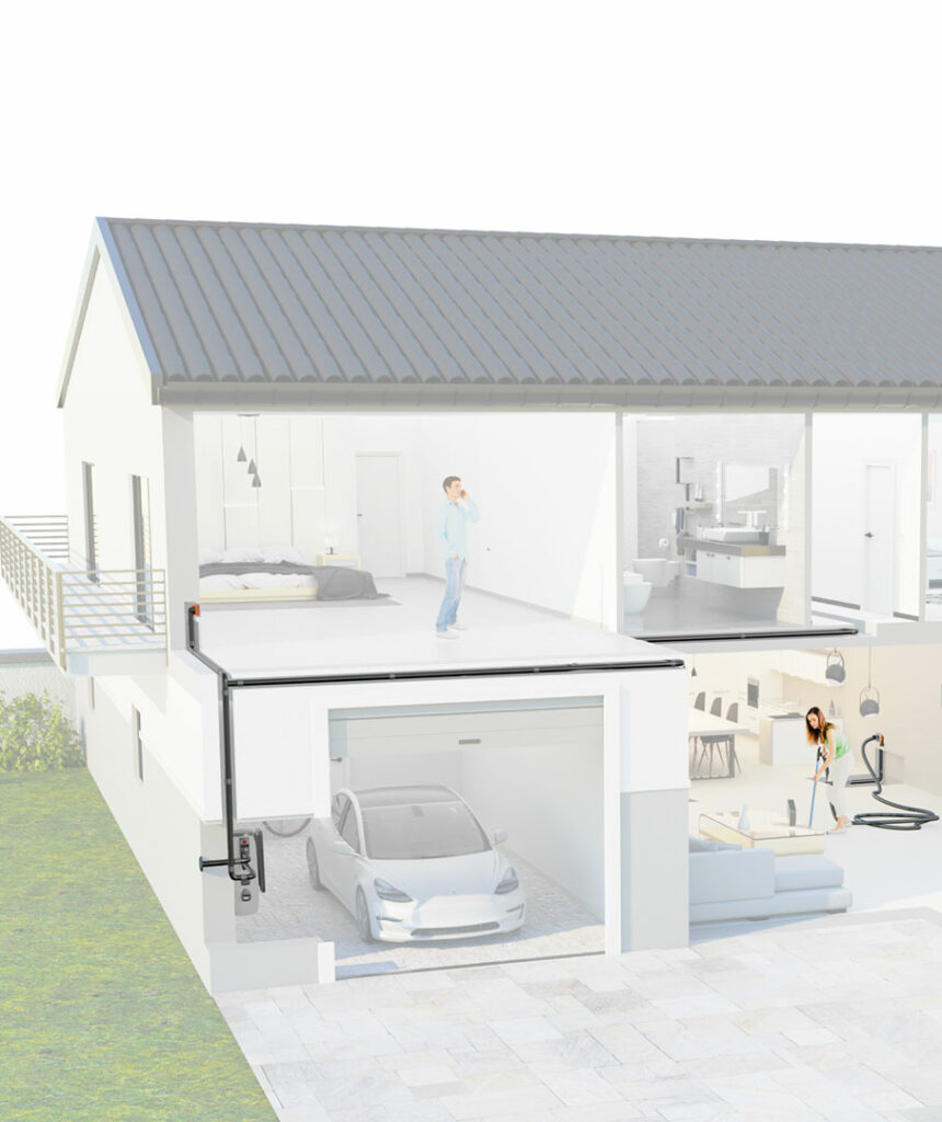esempio di installazione impianto Sistem Air
