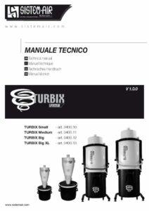 foto manuale copertina Turbix Sistem Air