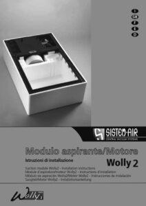 copertina istruzioni di installazione modulo aspirante Wolly 2