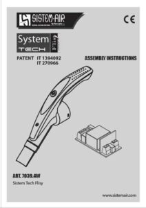 copertina manuali Sistem Tech Flisy