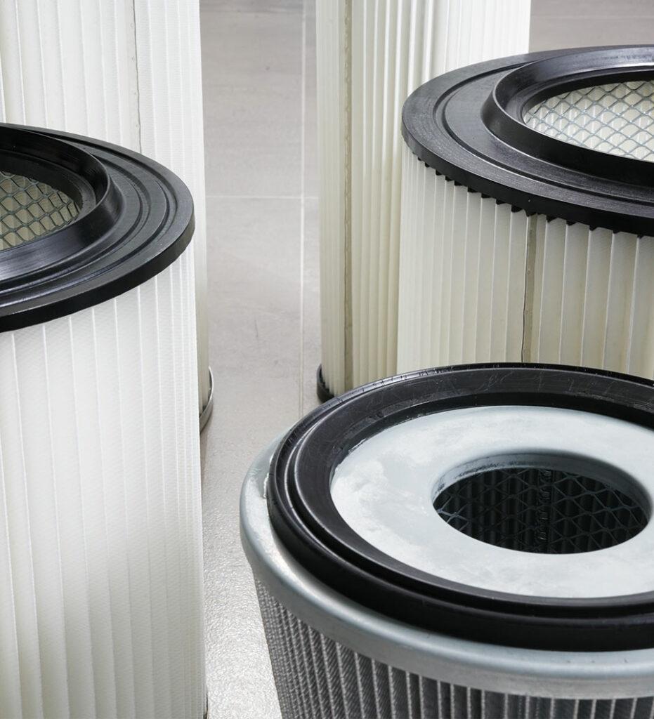 foto dettaglio filtri Sistem Air